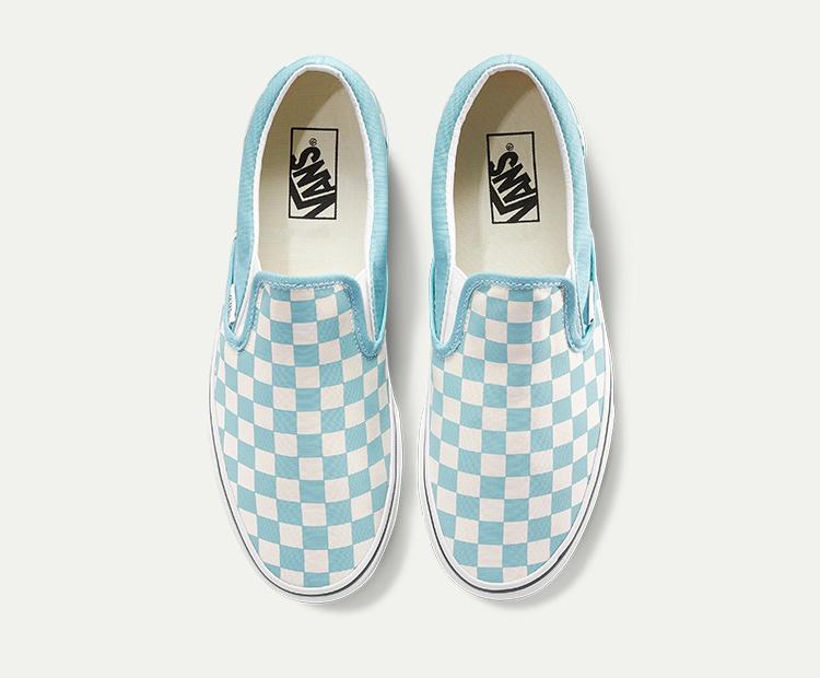 范斯Slip-On男女同款帆布鞋板鞋