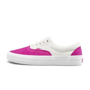 白色/粉色