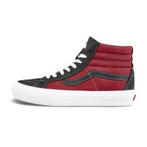 黑色/红色
