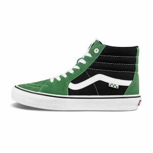 SKATE SK8-HI男女滑板鞋