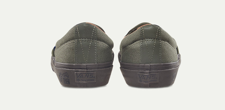 Vans(范斯)经典款男女帆布鞋细节展示
