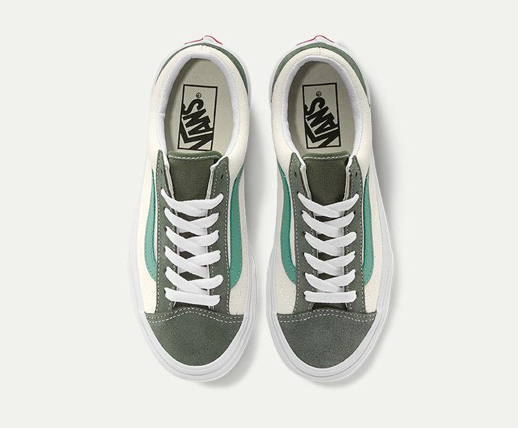 范斯STYLE-36女款板鞋牛油果绿