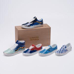 赠品-VANS限量艺术家手工瓷鞋Old Skool