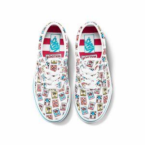 VANS X WHERE'S WALDO ERA中大童联名帆布鞋