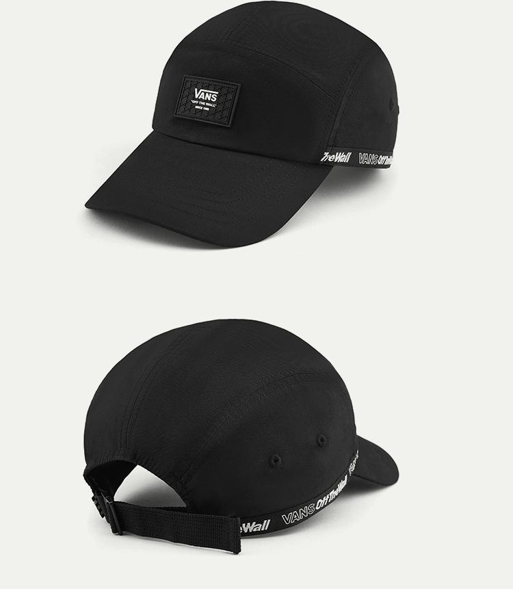 VANS(范斯)AP-V-OTW-TAPPED-HAT男款帽子(黑色)