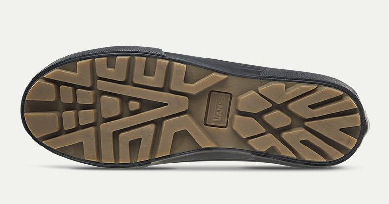 休闲百搭的同时舒适感也不可缺少的万斯高帮休闲板鞋