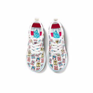 VANS X WHERE'S WALDO ERA 小童联名帆布鞋