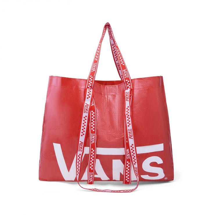 赠品-VANS红白色购物袋