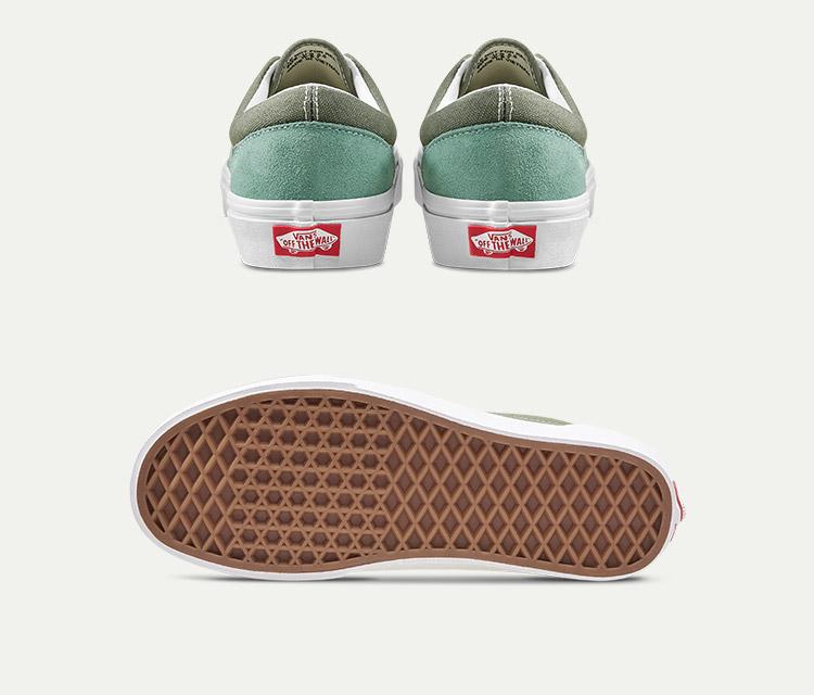 ERA女款板鞋牛油果绿