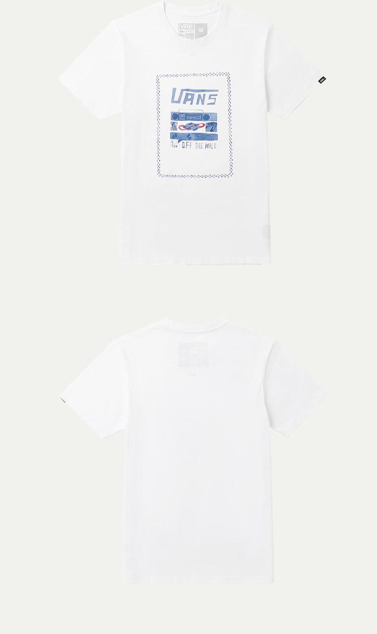 范斯男款短袖T恤运动T恤